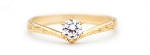 ハワイアンジュエリープライベートビーチの婚約指輪