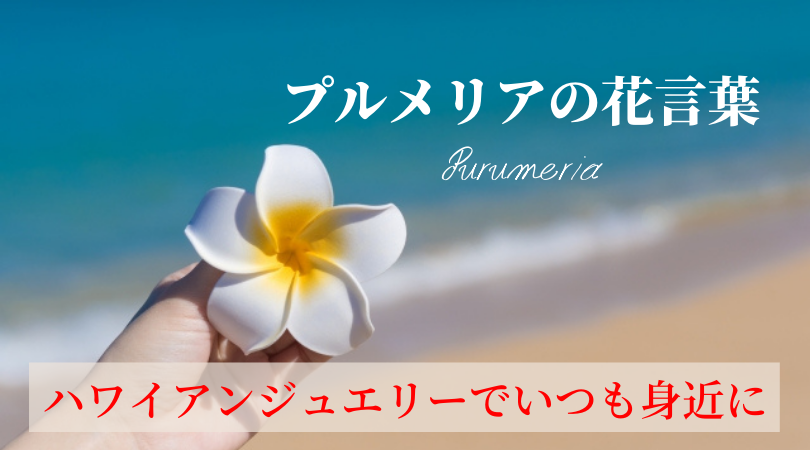 プルメリアの花言葉は?ハワイの愛&幸運を「結婚指輪」でいつも身近に感じよう