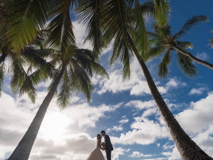 ハワイアンジュエリー プライベートビーチ